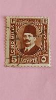 EGYPTE - EGYPT - Timbre 1923 : Portrait Du Roi Fouad 1er - Used Stamps