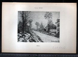 Claude Monet, L'hiver ( Reproduction Papier) - Altri