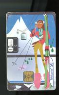 FRANCE - CABINE DE TELEPHERIQUE - 50 U - - 2001