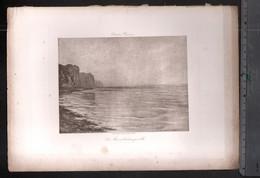 Claude Monet, La Mer à Varengeville ( Reproduction Papier) - Altri