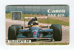Telecarte °_ France 50u-En 737-Sc5-04.93-F 1.Williams Renault  Elf N°5-4571- 6000 Ex.- R/V - 50 Unità