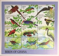 Ghana 1994 Birds Sheetlet MNH - Non Classificati