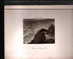 Claude Monet, Falaise à Varengeville ( Reproduction Papier) - Altri