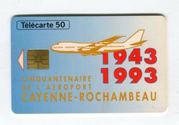 Telecarte °_ France 50u-En 859-gem-12.93-Cayenne-Rochambeau-2030 Ex.- R/V - 50 Unità