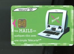 FRANCE - VOS MAILS EN QUELQUES CLICS - 50 U - - 2002