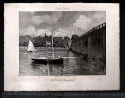 Claude Monet, Le Pont D'Argenteuil( Reproduction Papier) - Altri
