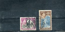 Jamaïque 1938 Yt 130 133 George VI - Jamaica (...-1961)
