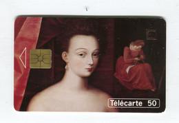 Telecarte °_ France 50u-En 1106-gem-07.94-Gabrielle D'Estrées-Louvre-Fontainebleau-5800 Ex.-  R/V - 50 Unità