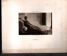 Claude Monet, Méditation ( Reproduction Papier) - Altri