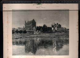 Claude Monet, L'eglise De Vernon ( Reproduction Papier) - Altri