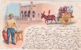 Palermo - Chiesa Della Catena, Cartolina Illustrata Viaggiata 1900 - Palermo
