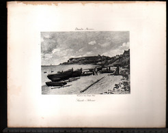Claude Monet, Saint Adresse ( Reproduction Papier) - Altri