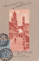 Palermo - Via Matteo Bonello E Duomo Viaggiata 1911 - Palermo