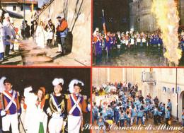 (R404) - ALBIANO D'IVREA (Torino) - Multivedute Del Carnevale Storico - Non Classificati
