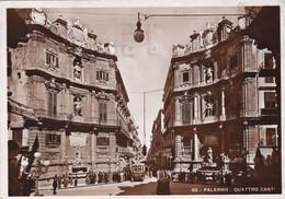 Palermo - Quattro Canti Viaggiata 1939 - Fotocelere A. Campassi - Palermo