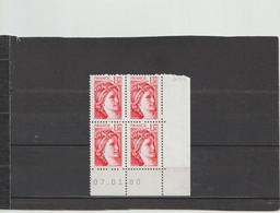 N° 2059 - 1,30 SABINE - 4° Tirage Du 12.12.79 Au 18.1.80 - 07.01.1980 -  RGR1 - - 1970-1979