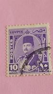 EGYPTE - EGYPT - Timbre 1944 : Portrait Du Roi Farouk - Used Stamps