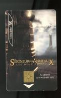 FRANCE - SEIGNEUR DES ANNEAUX - 50 U - - 2002