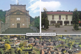 (R407) - BALDISSERO CANAVESE (Torino) - Multivedute - Non Classificati