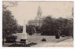 DC 2643 - PORTSMOUTH - The Town Hall Fro Victoria Park - LL 9 - Portsmouth