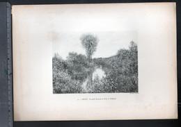 Claude Monet, Le Bras De La Seine à Vétheuil ( Reproduction Papier) - Altri