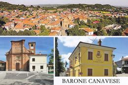 (R408) - BARONE CANAVESE (Torino) - Multivedute - Non Classificati