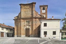 (R409) - BARONE CANAVESE (Torino) - Piazza Statuto E Chiesa Di Santa Maria Assunta - Non Classificati