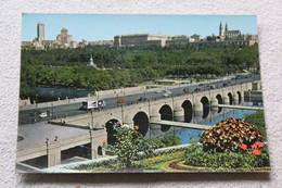 E143, Cpm 1985, Madrid, Puente Segovia, Vista Partial, Espagne - Madrid