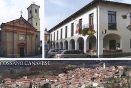 (R410) - COSSANO CANAVESE (Torino) - Multivedute - Non Classificati
