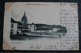 CPA Creuse - Chambon Sur Voueize (23170) – Place Aubergier  – A Voyagé En 1901 - Chambon Sur Voueize