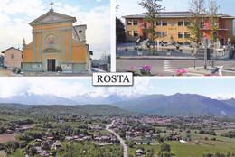 (R417) - ROSTA (Torino) - Multivedute - Non Classificati