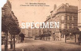 L'avenue Des Celtes Vers La Place- St-Pierre - Etterbeek - Etterbeek