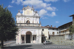 (R418) - SAN MARTINO CANAVESE (Torino) - La Piazza - Non Classificati