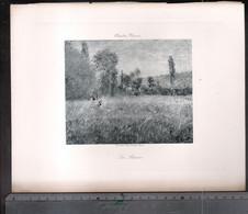 Claude Monet, La Rairie ( Reproduction Papier) - Altri
