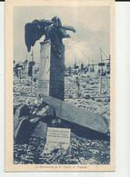 MILITARIA -IL MONUMENTO A UN CADUTO DEL  REGIO CORPO DI FINANZA -FP - Oorlogsmonumenten