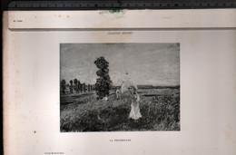Claude Monet, La Promenade ( Reproduction Papier) - Altri