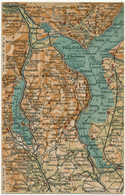 ITALIE - Carte Géographique - Non Classificati