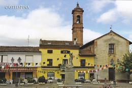 (R424) - CASTELSPINA (Alessandria) - Via Giacomo Matteotti - Alessandria