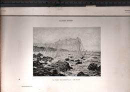 Claude Monet, Le Parc De Pourville, Le Filet ( Reproduction Papier) - Altri