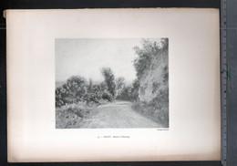 Claude Monet, Route De Giverny ( Reproduction Papier) - Altri