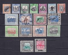 SUDAN 1951/61, SG# 123 - 139, CV £35, Architecture, Animals, Used - Sudan (1954-...)
