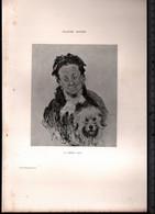 Claude Monet, La Mère Paul ( Reproduction Papier) - Altri