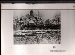 Claude Monet, L'eglise à Vetheuil ( Reproduction Papier) - Altri
