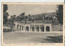 CHIANCIANO (SIENA) SORGENTE S.ELENA -PORTICATO DELL'INGRESSO-FG. - Siena