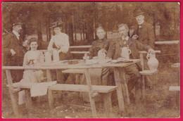 AK. Im Biergarten, Gelaufen Ca 1912 - Alberghi & Ristoranti