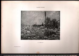 Claude Monet, La Debacle ( Reproduction Papier) - Altri