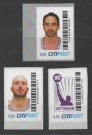 Germany, Private Post Citipost, Basketball, MNH - Pallacanestro