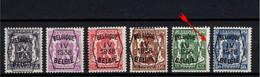 PRE 351/56 **, MNH, Neufs. Impression Latérale - Typos 1936-51 (Kleines Siegel)