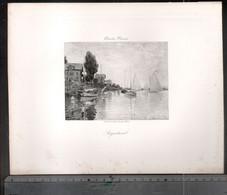 Claude Monet, La Falaise à Pourville  ( Reproduction Papier) - Altri