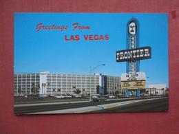 Greetings Las Vegas  The Frontier.   Nevada > Las Vegas   Ref 5216 - Las Vegas
